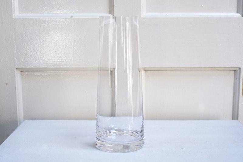 透明度の高いガラスシリンダーベース