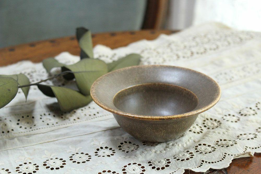 【後藤奈々】帽子小鉢 茶