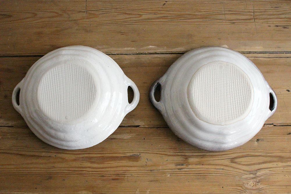 美濃焼 手付きパスタ皿