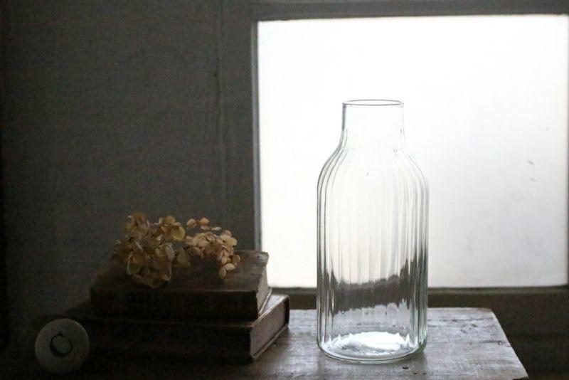 リューズガラスのフラワーベース