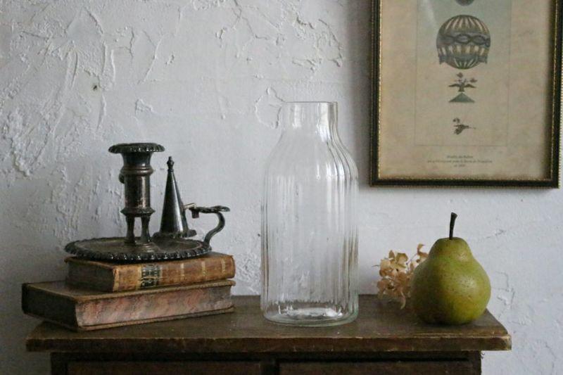 リサイクルガラスのおしゃれな花瓶