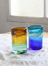 エコ素材のガラスコップ