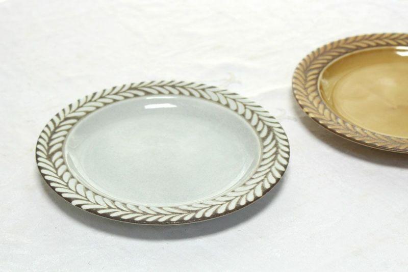 北欧風のお皿グレー