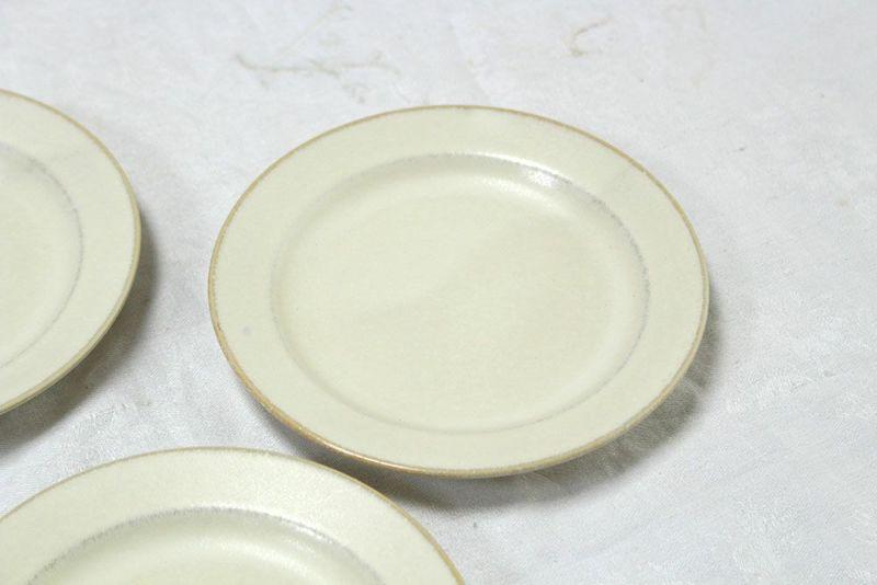 かわいいパン皿白