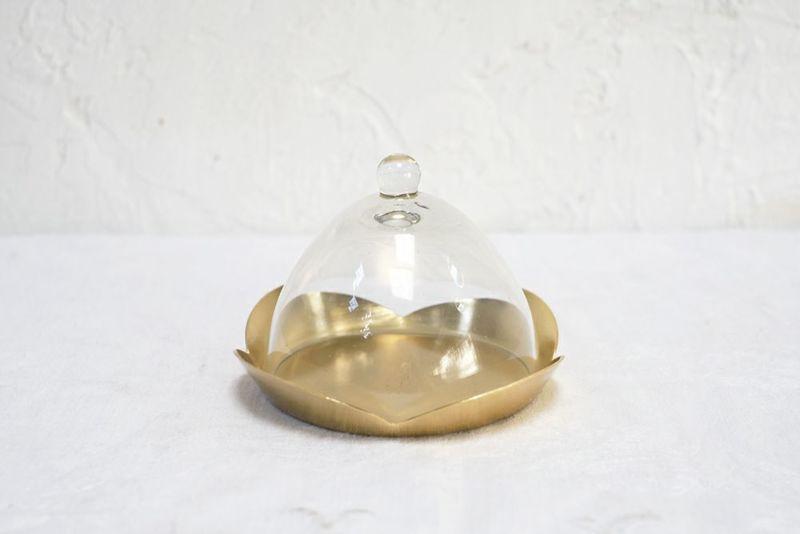 小さなガラスドームケース