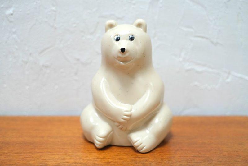 クマのオブジェ