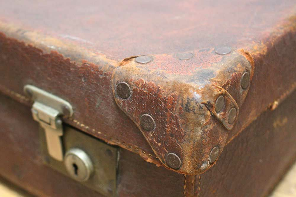 アンティーク・レザースーツケース
