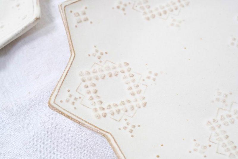 ハーダンガー刺繍の模様