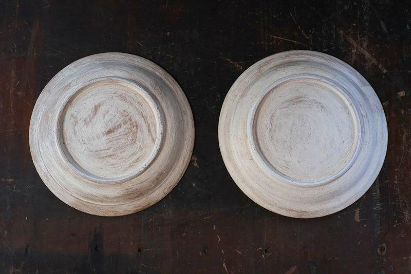 笠間焼のディナープレート