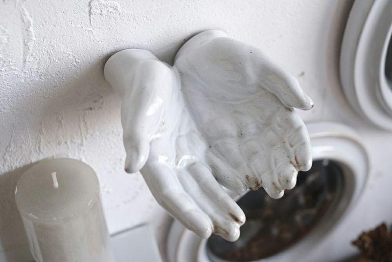 陶器のウォールデコ