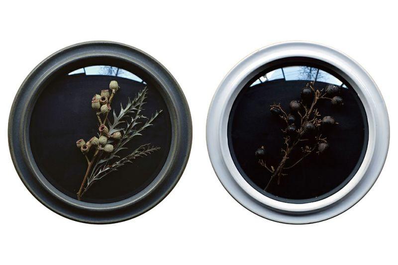 陶器製のガラスフレーム