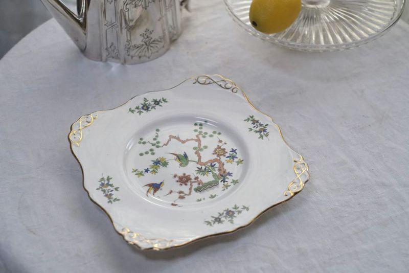 イギリス製ビンテージエンズレイ皿