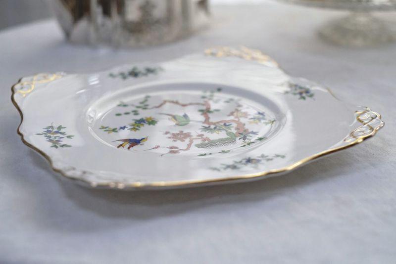 かわいいビンテージエンズレイ皿